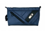 High grade black men's business travel toiletry bags