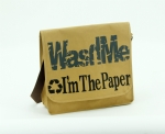 I'm the paper best printing wash paper shoulder bags